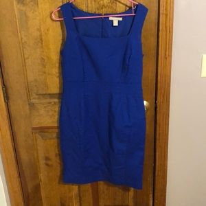 Stunning cobalt blue Banana Republic dress